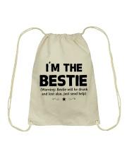 I'm The Bestie Drawstring Bag thumbnail