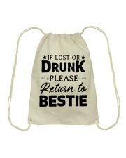 If Lost Or Drunk Drawstring Bag thumbnail