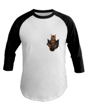 Bengal Cat Pocket Tshirt Baseball Tee thumbnail