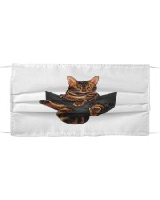 Bengal Cat Pocket Tshirt Cloth face mask thumbnail