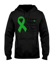 I Wear Ribbon Someone I Love Spinal Cord Injury Hooded Sweatshirt tile