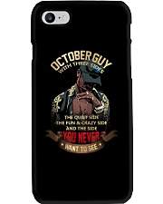 OCTTOBER GUY Phone Case thumbnail