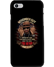 november guy Phone Case thumbnail