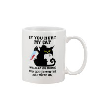 BLACK CAT IF YOU HURT MY CAT T SHIRT Mug thumbnail