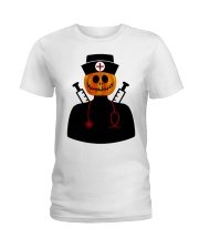 NURSE HALLOWEEN  Ladies T-Shirt tile