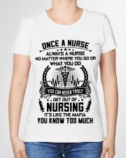 ONCE A NURSE  Premium Fit Ladies Tee garment-premium-tshirt-ladies-front-01