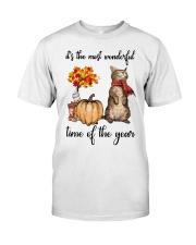 Funny Cat Halloween T-Shirt Classic T-Shirt thumbnail