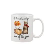 Funny Cat Halloween T-Shirt Mug thumbnail