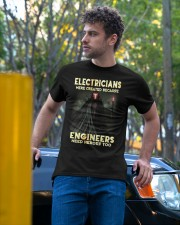ELECTRICIANS T SHIRT  Classic T-Shirt apparel-classic-tshirt-lifestyle-front-44