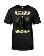 ELECTRICIANS T SHIRT  Classic T-Shirt front
