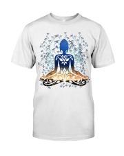 Womens Flower Yoga Top Buddha Chakra Meditation -P Classic T-Shirt thumbnail