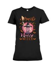 I am the nurse witch t shirt Premium Fit Ladies Tee thumbnail