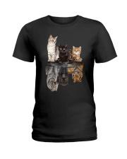 Cat Love Classic T-Shirt Ladies T-Shirt front