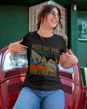 Best Cat Dad Classic T-Shirt Ladies T-Shirt apparel-ladies-t-shirt-lifestyle-01