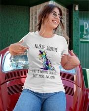 NURSE SAURUS  Ladies T-Shirt apparel-ladies-t-shirt-lifestyle-01