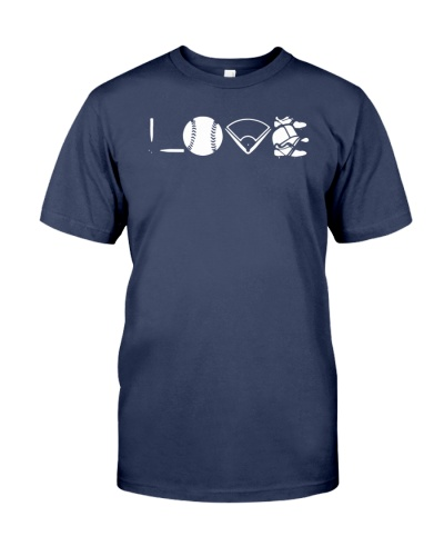 Love Baseball Women Men Organic Shirt