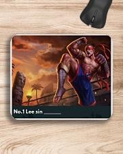 No1 Leesin yourname Mousepad aos-mousepad-front-lifestyle-1