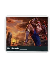 No1 Leesin yourname Mousepad front