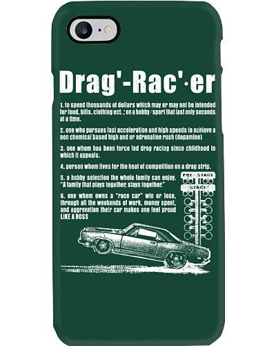 Drag racer Definition Tee
