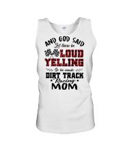 DIRT TRACK RACER MOM LOAD YELLING Unisex Tank thumbnail