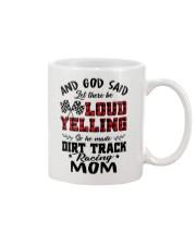 DIRT TRACK RACER MOM LOAD YELLING Mug thumbnail