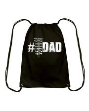 Drag racing DAD 07 Drawstring Bag thumbnail