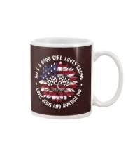 Good girl loves racing Mug thumbnail