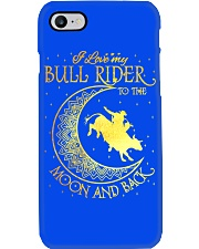 I love my Bull Rider to the moon and back Phone Case thumbnail