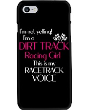 DIRT TRACK RACING GIRL - RACETRACK VOICE Phone Case thumbnail