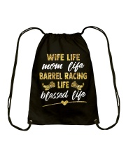 BARREL RACING LIFE BLESSED LIFE Drawstring Bag thumbnail