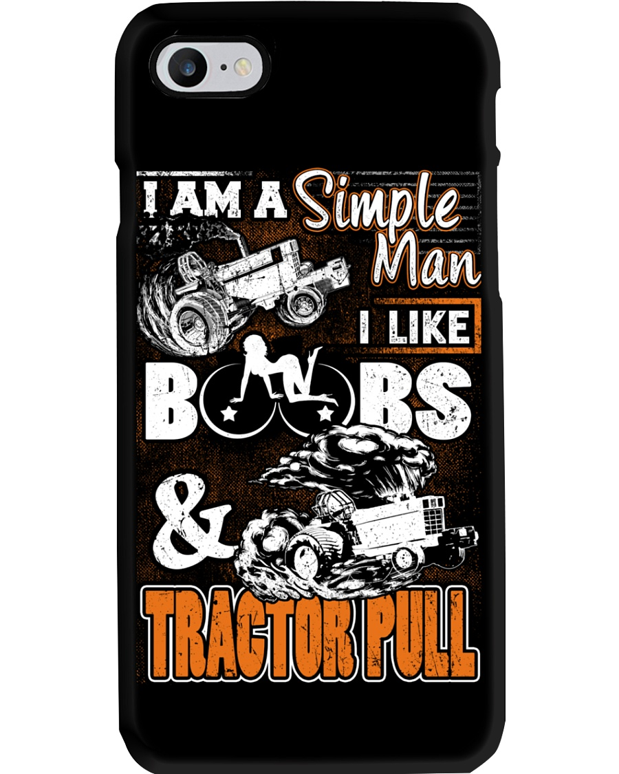 TRACTOR PULLING - SIMPLE MAN Phone Case