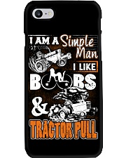 TRACTOR PULLING - SIMPLE MAN Phone Case i-phone-7-case