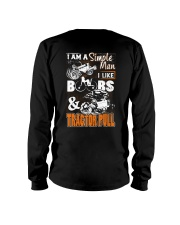 TRACTOR PULLING - SIMPLE MAN Long Sleeve Tee thumbnail