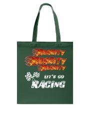 LET'S GO RACING Tote Bag thumbnail