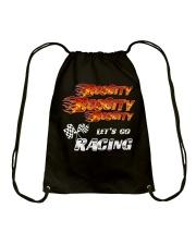 LET'S GO RACING Drawstring Bag thumbnail