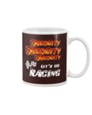 LET'S GO RACING Mug thumbnail