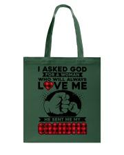 Grandma always love me Tote Bag thumbnail