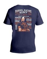 BARREL RACING AUNT V-Neck T-Shirt thumbnail