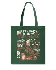 BARREL RACING AUNT Tote Bag thumbnail