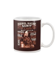 BARREL RACING AUNT Mug thumbnail