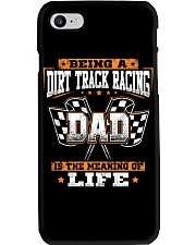 Dirt track racing Dad- meaning of life Phone Case thumbnail