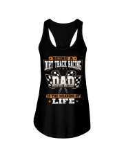 Dirt track racing Dad- meaning of life Ladies Flowy Tank thumbnail