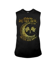 I love my Dirt Track Racer to the moon and back Sleeveless Tee thumbnail