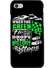 DIRT TRACK - WHEN THE GREEN FLAG DROPS Phone Case thumbnail