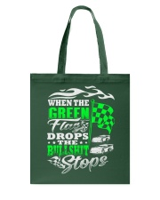DIRT TRACK - WHEN THE GREEN FLAG DROPS Tote Bag thumbnail
