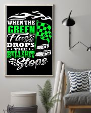 DIRT TRACK - WHEN THE GREEN FLAG DROPS 16x24 Poster lifestyle-poster-1