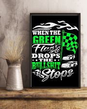DIRT TRACK - WHEN THE GREEN FLAG DROPS 16x24 Poster lifestyle-poster-3