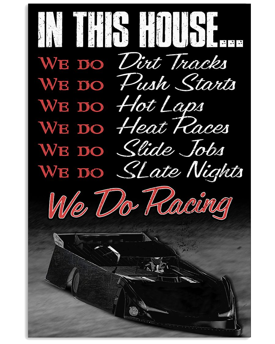 DIRT TRACK - IN THIS HOUSE 11x17 Poster