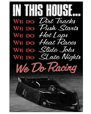 DIRT TRACK - IN THIS HOUSE 11x17 Poster front