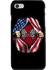 Dirt track racing US Phone Case thumbnail